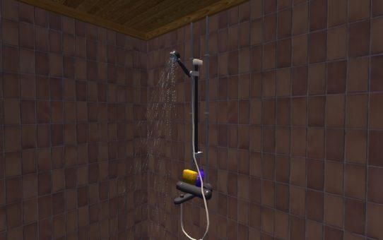 Рабочий душ