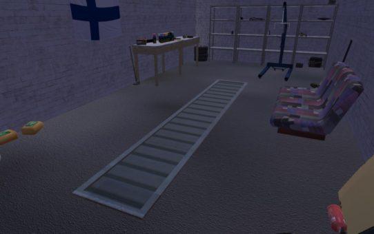 Закрытие ямы в гараже (Сlosing pits panel)