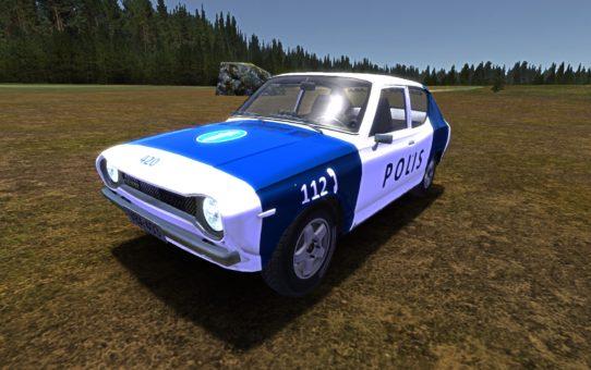 Скин полицейского авто