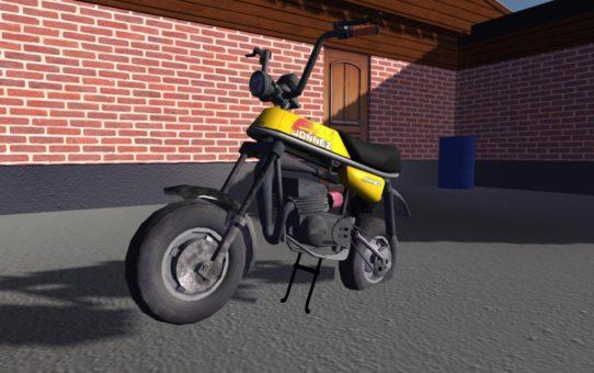 Подножка для мопеда (Leg on Moped)