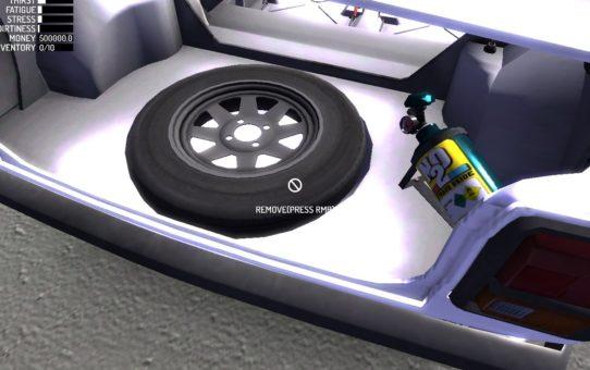 Запаска – Stepney(Spare Wheel)