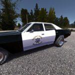 Полицейский маслкар