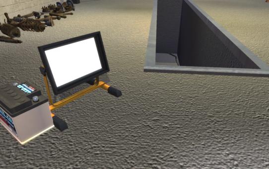 Портативный прожектор – Portable Floodlight 1.0.1