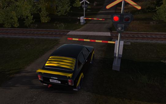 Железнодорожный переезд – Railroad crossing lights and barriers 1.0.0 d912b97d766