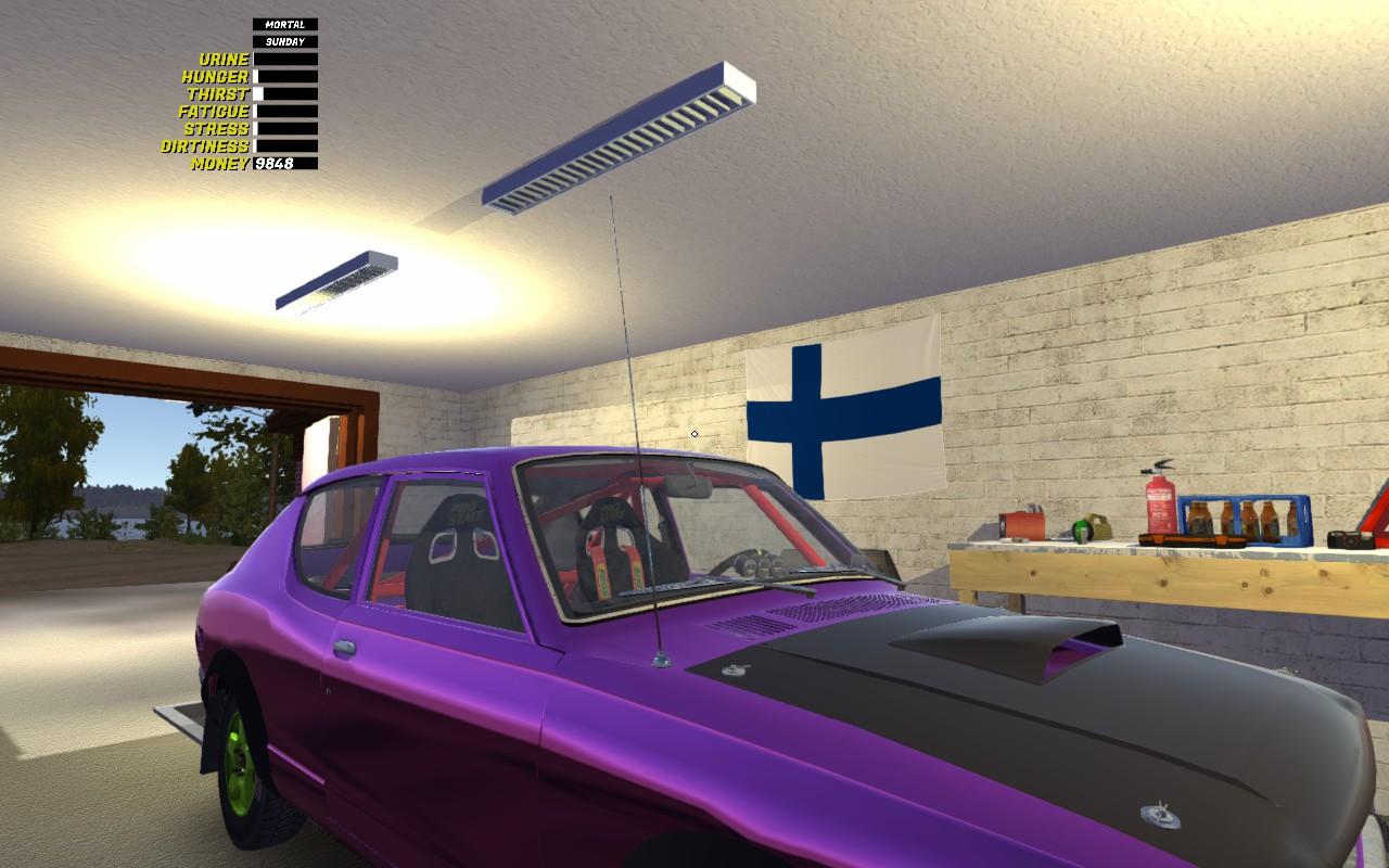 Автомобильная антенна (Car Aerial 1 0a) – My Summer Car моды