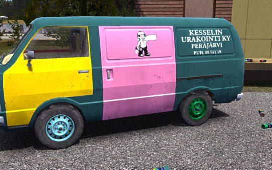 Покраска фургона